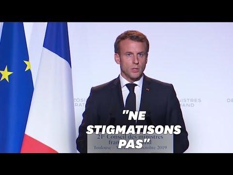 Emmanuel Macron refuse