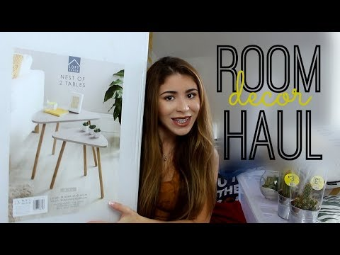 SUPER CHEAP ROOM HAUL! | Poundland | B&M