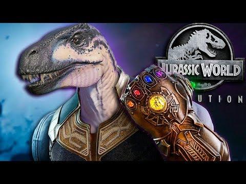 THANOSAURUS TAKES OVER JURASSIC WORLD!! - Jurassic World - Evolution | CDP DLC |