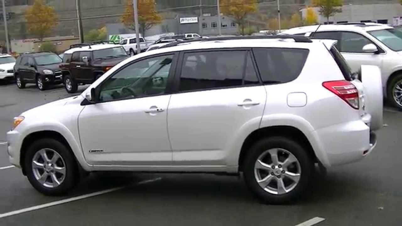 2010 Toyota Rav 4 Limited V6 Video 003 Youtube