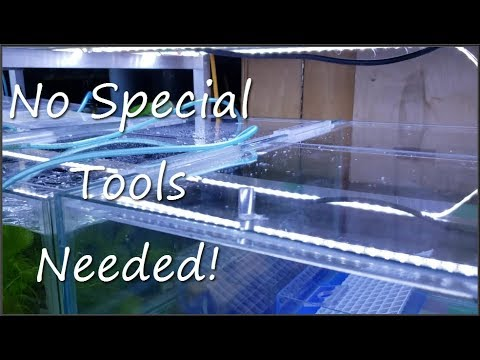 DIY Easy Acrylic Aquarium Lids