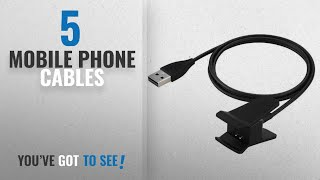 Top 10 Mobile Phone Cables [2018]: Awinner Charger For Fitbit Alta,Replacement USB Charging Cable