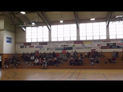 (JV Boys Basketball) Archbishop Hanna vs. Mendocino High School - Second Half