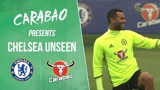 CHELSEA UNSEEN: Frank Lampard returns, Joe & Ashley Cole back at Cobham, cooking with Kante