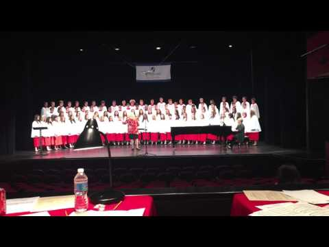 The Last Words of David by Parkersburg High School Acappella Choir Toronto, Canada 2016