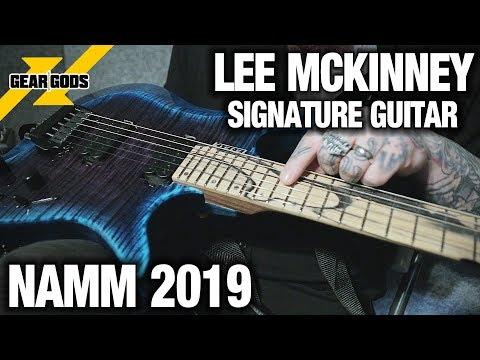 NAMM 2019 - LEE MCKINNEY of BORN OF OSIRIS' New Signature Kiesel Guitar    GEAR GODS