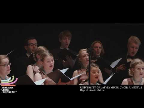 MCF2017 University of Latvia Mixed Choir Juventus Lettonie Mixte
