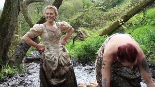 Divorced Women Run Through Mud In Wedding Dresses