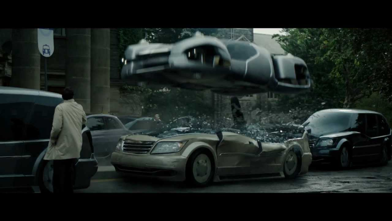 "TOTAL RECALL Vignette In HD - ""Hover Cars"" - YouTube"