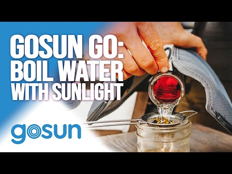 GoSun Go: Boil Water and Cook Food with Solar Power