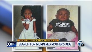 Search for murdered mother