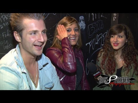 Secondhand Serenade Interview with Rock Forever Magazine (Featuring Veronica Ballestrini)