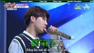 [SET][Vietsub] Eye, Nose, Lips - Sunggyu (cover) (170317 Singderella Ep 18)
