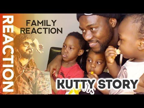 MASTER - Kutti Story REACTION   Thalapathy Vijay   Anirudh Ravichander   Lokesh Kanagaraj