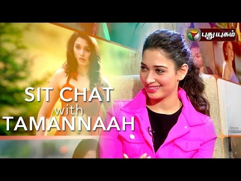 Actress Tamannaah in Sit Chat with Tamannaah | 14/04/2016 | Puthuyugam TV