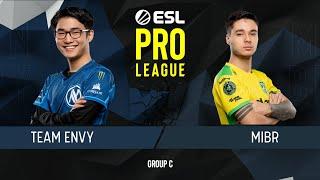 CS:GO - MIBR vs. Envy [Train] Map 2 - Group C - ESL Pro League Season 9 Americas