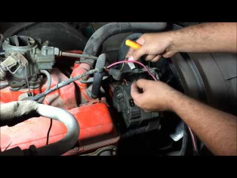 externally regulated alternator to internally regulated conversion easy way  gm how to - youtube