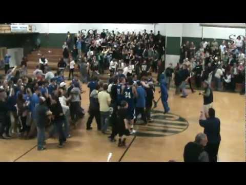 Miracle shot: U-32 v Montpelier Boys Basketball 2-22-2012