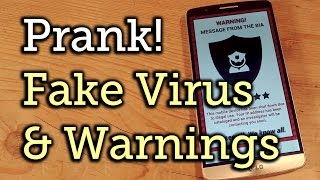 Android Prank: Place a Fake Virus on Your Friend's Phone & Watch 'Em Freak Out [How-To] screenshot 3