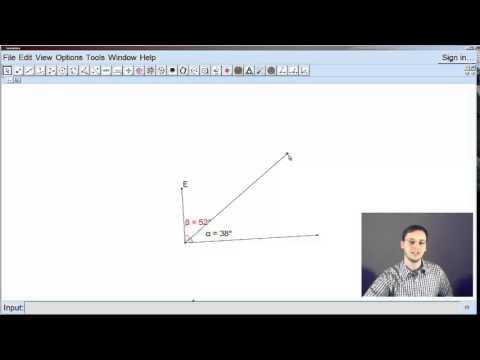 Μαθηματικά Α΄ Γυμνασίου, 3ο Μάθημα-Συμπληρωματικές και Παραπληρωματικές Γωνίες