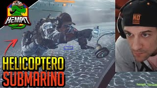 Battlefield 4 - Fiz Helicóptero Virar Submarino e me Vinguei!