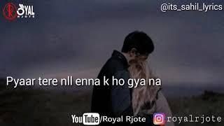 Love Quotes When a Boy Love a Girl ||| New punjabi shayari 2018 ||| 2 lines whatsapp status