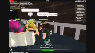roblox dance party #1 why do people hate me!