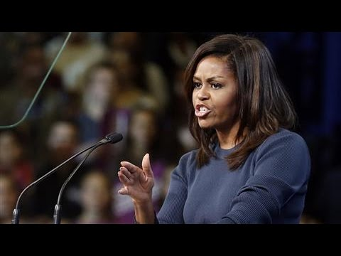 Michelle Obama Accuses Trump of 'Bragging About Sexually Assaulting Women'