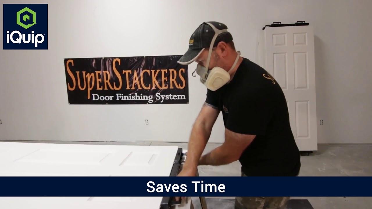 iQuip Super Stackers - Smartest way to paint your door! & iQuip Super Stackers - Smartest way to paint your door! - YouTube