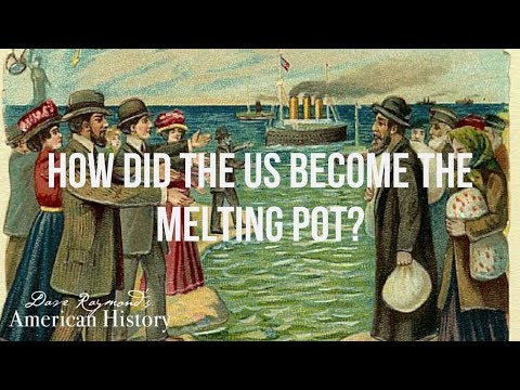 The Melting Pot Culture   Online History Curriculum Sample