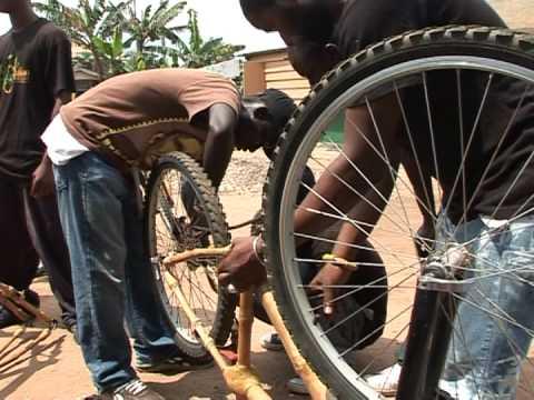 Bamboo bikes, Ghana's green transport