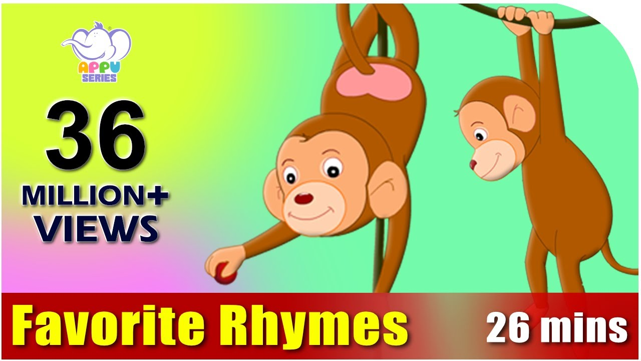 Nursery Rhymes Vol 3 - Collection of Thirty Rhymes - YouTube