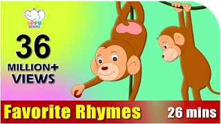 Repeat youtube video Nursery Rhymes Vol 3 - Collection of Thirty Rhymes