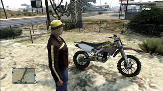 GTA 5 Online - Doing a wheelie