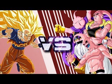 Youtube Dragon Ball Z Goku Vs Kid Buu
