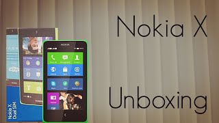 Nokia X Unboxing - India Retail Unit Package Contents & Physical Overview - PhoneRadar