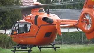 Rettungshubschrauber EC-135 Christoph Start in Steinhude/Tennis-Platz