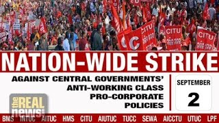 Trade Union General Strike Across India