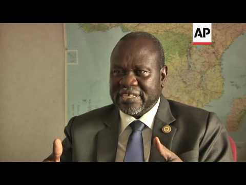 SSudan rebel leader urges new political process