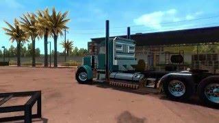 American Truck Simulator HEAVY HAUL/Peterbilt 389