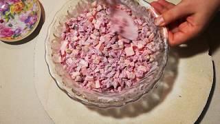 Рецепт салата «Виолетта»