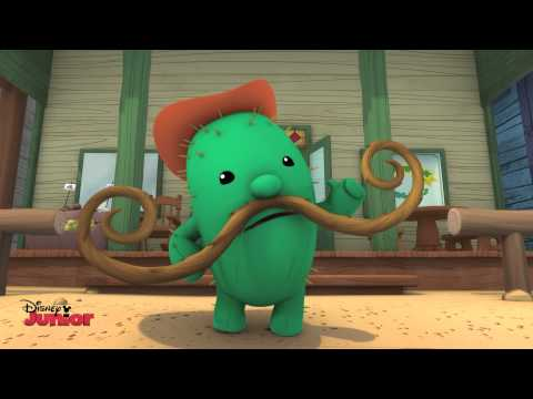 Sheriff Callie   My Moustache and Me Song   Disney Junior UK