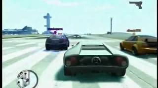 GTA IV TBOGT- Police Stinger Vs. Infernus Vs. Sultan RS