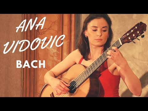 Ana Vidovic plays from the Cello Suite No. 1 Prelude in G Major BWV 1007 - BACH