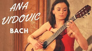 Ana Vidovic Plays From The Cello Suite No 1 Prelude In G Major BWV 1007