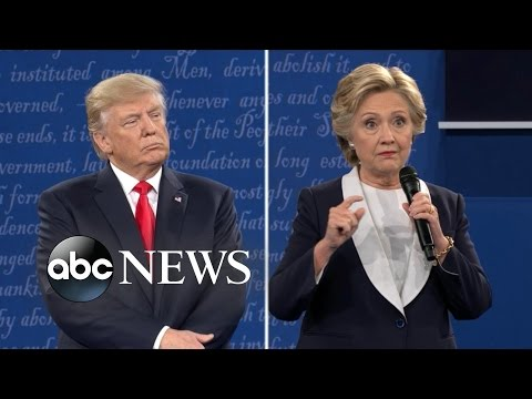 Debate Highlights | Hillary Clinton, Donald Trump Discuss WikiLeaks and Russia