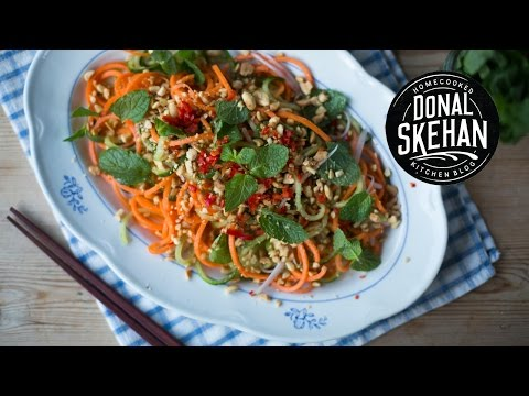 Healthy Asian Spiralizer Salad