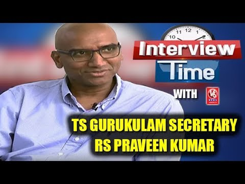 Interview Time With TS Gurukulam Secretary RS Praveen Kumar | V6 News