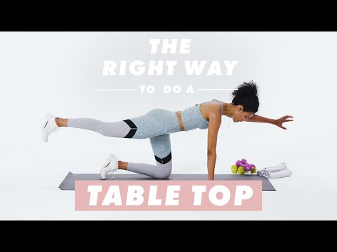 How to do tabletop position the right way, according to a