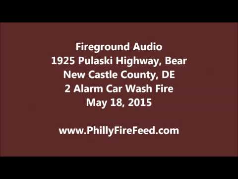 5-18-15, 1925 Pulaski Hwy, Bear, New Castle County, DE, 2 Alarm Building Fire